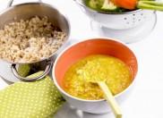 Gợi ý chế biến một số món cháo với cà rốt cho bé